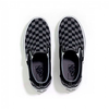 Giày Vans Slip-On Black/Pewter Checkerboard