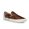Giày Vans Slip-On Lux Leather Brown