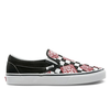 Vans Slip-on Black Red F196 Checkerboard