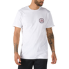 Vans Checkered Side Stripe Tee - White - VN0A4556WHT