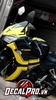 Tem xe CBR 150 Yellow on Black
