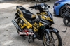 Tem xe Exciter 135 Yellow Army