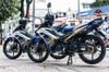 Tem xe Exciter 135 Blue Yellow MX