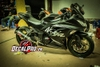 Tem xe Ninja 300 Black Winter Test