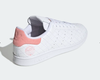 Giày thể thao chính hãng Stan Smith Originals trainers in white and pink
