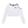 DKMV LS Shouder Cut Out-White