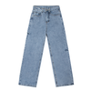 DKMV Thigh Destroyed Jeans-Light Blue