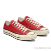 Converse Chuck Taylor All Star 1970s Red Low