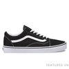 Vans Old Skool Canvas Black White