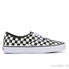 Vans Authentic Golden Coast Black White Checkerboard - Ship US