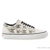 Vans Old Skool Anaheim Factory 36 DX OG Black White Print Mix - Ship US