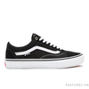Vans Old Skool Pro Black White Skateboard