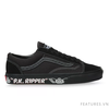 Vans Style 36 All Black x SE Bike Sidewall