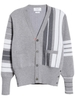 ÁO CARDIGAN THOM BROWNE STRIPE 4-BAR CHUẨN 1:1 AUTHENTIC