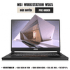 Laptop Workstation MSI WS65 9TL
