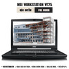Laptop Workstation MSI WT75 8SM
