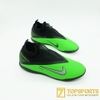 Nike Phantom VSN React II Pro DF TF -  Black/Platinum/Green CD4174 036