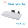 GoIP 8 kênh hổ trợ 4G– GOIP 8 Channels  4G GSM VOIP Gateway